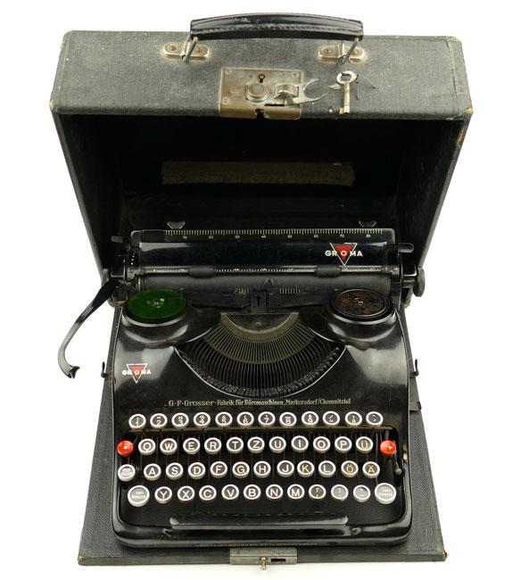 Rare original Waffen-SS Typewriter