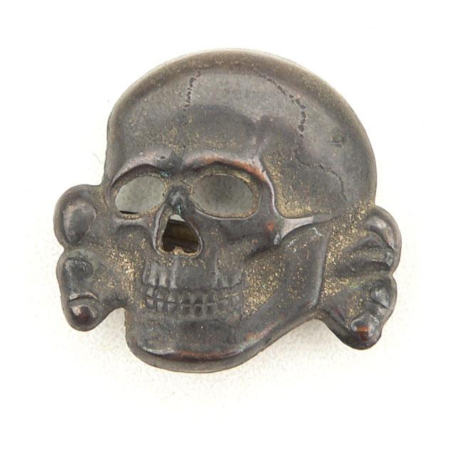 Waffen-SS Visor Cap Skull