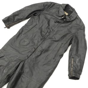 15678-KM Leather Coveralls - Militaria Plaza (2)